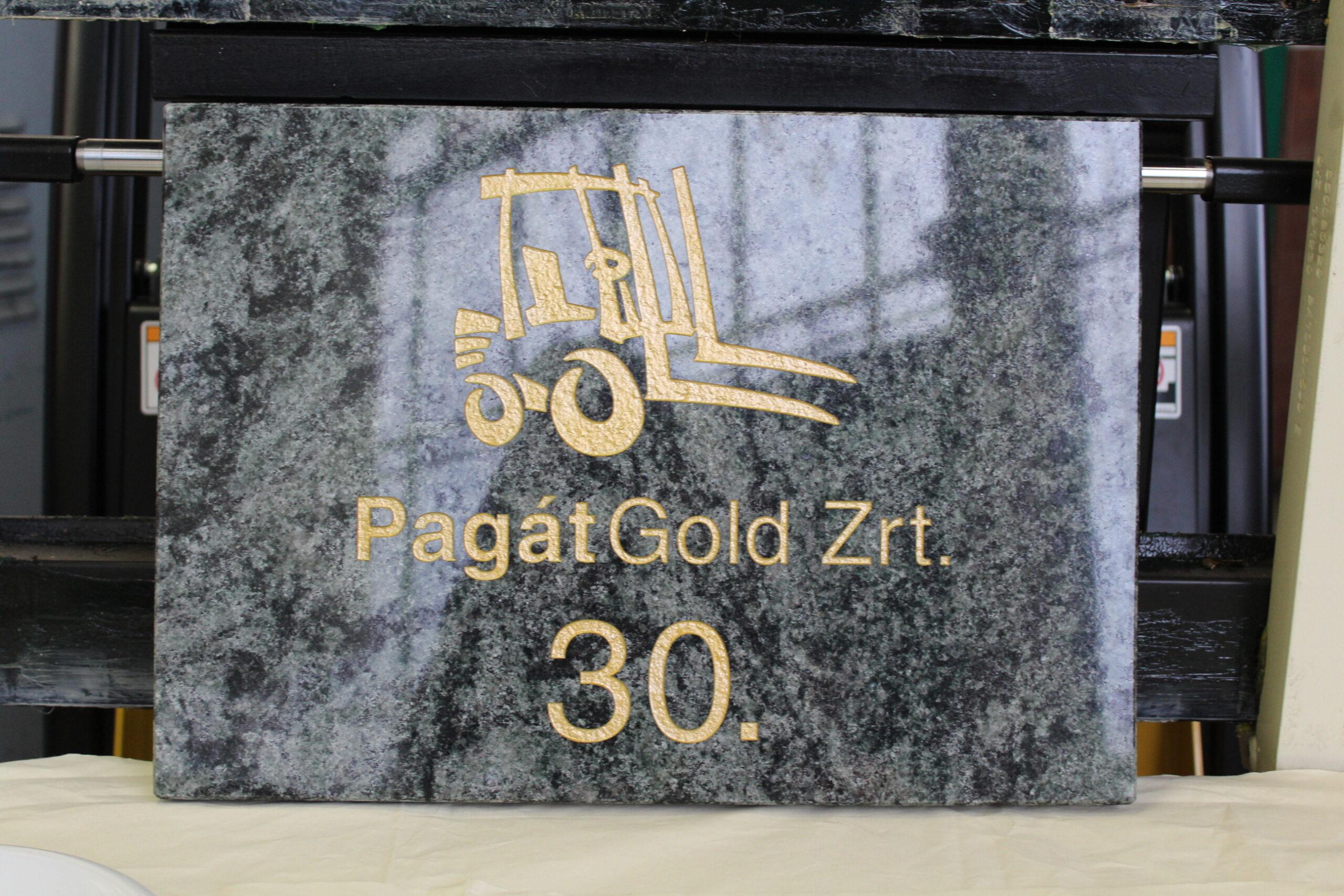 30 éves a Pagát Gold